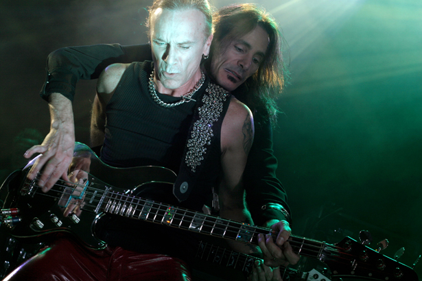 Steve Vai and Billy Sheehan