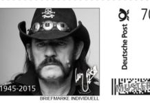 Lemmy German Postage Stamps