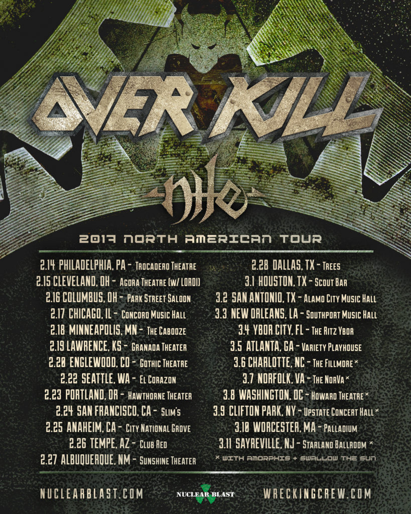 Overkill-Nile-Lordi-2017-Tour